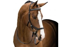 Horseware Rambo Micklem Diamante Competition Bridle Black