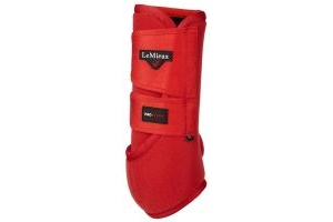 LeMieux ProSport Support Boots Coral Red
