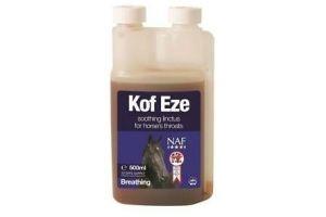 NAF Kof-Eze - Minimises Cough Reflex in Horses 500ml
