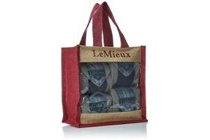 LeMieux Unisex's Heritage Polo Bandages Set of 4 Navy, Full