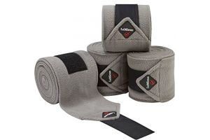 LeMieux Luxury Polo Bandages - Grey