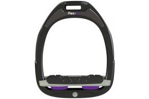 Flex-on Green Composite Inclined Stirrup Black/Purple
