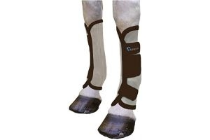 Shires Arma Fly Turnout Socks Black Pony