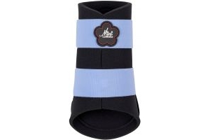 LeMieux Mini Brushing Boots Corn Blue/Navy