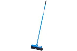 Red Gorilla Short Handled 30cm Broom: Blue