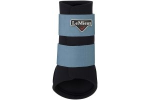 LeMieux Grafter Brushing Boots Ice Blue