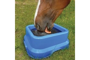 Horslyx Stable Lick Holder Blue 15kg