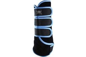 Woof Wear Dressage Wraps Powder Blue - Lightweight Breathable