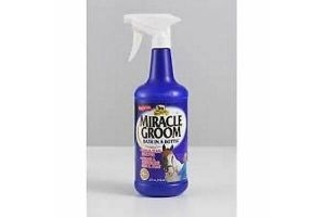 Absorbine Miracle Groom 946ml Horse Pony Cleans Conditions Detangler Shine