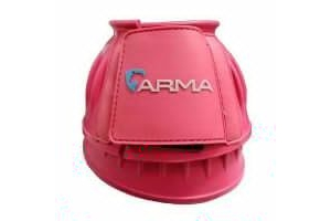 Shires ARMA Touch Close Over Reach Boots - Pink, Pony