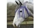 Saxon Fly Fringe - Purple - Pony