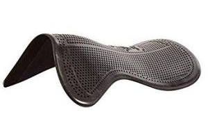Acavallo Unisex's Black Shaped Gel Pad Pony