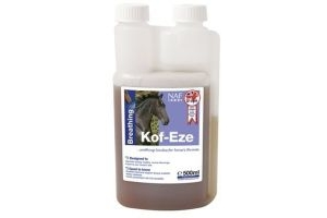 NAF Kof-Eze - 500ml - A soothing syrup of peppermint and tea tree oil. by William Hunter Equestrian