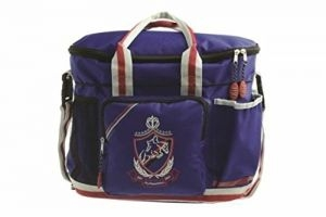 Hy Shine Pro Grooming Bag - Navy / Red / Grey