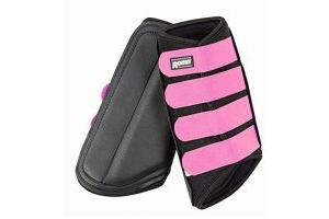ROMA NEOPRENE BRUSHING BOOT BLACK/PINK PONY