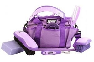 Roma Deluxe Carry Bag Grooming Kit Purple