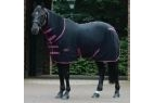 WeatherBeeta Fleece Cooler Combo Rug - Black/Boysenberry - 4 foot