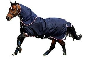 Horseware Rambo Duo Bundle Turnout Rug 5ft9 Navy/Beige/White/Red