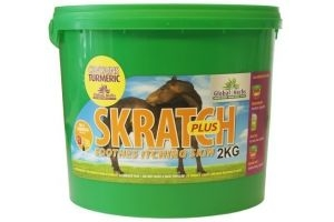 Global Herbs Skratch Plus Horse Mane & Tail Supplement x Size: 2 Kg