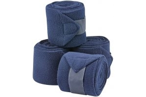 Saxon Co-ordinate Fleece Bandages Navy