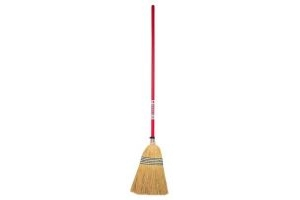 Red Gorilla Tubtrug Corn Broom Standard: Red