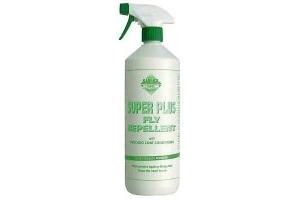 Barrier Super Plus Fly Repellent Spray 1 Litre 100% Natural Formula Stop Rubbing