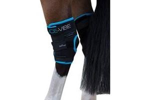 Horseware Ice Vibe Hock Wrap Full Black/Aqua