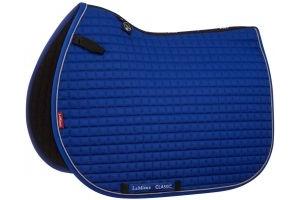 LeMieux ProSport Classic Jump Square Saddle Pad Benetton Blue/Grey