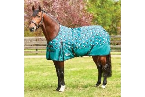 WeatherBeeta ComFiTec Essential 220g Medium Weight Standard Neck Turnout Rug Panda Print