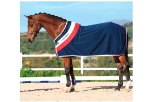 Horseware Rambo Fashion Cooler Navy/Red/White