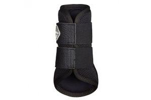 LeMieux Mesh Brushing Boots - Black, Large