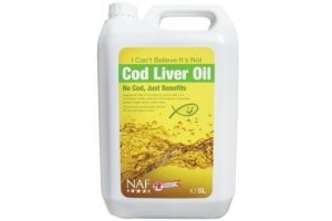 NAF - I Can't Believe It's Not Cod Liver Oil x 5 Lt