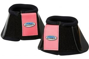 WeatherBeeta Impact Bell Boots Black/Paradise Pink