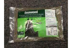 NAF SEAWEED REFILL BAG.. 2kg **FREE POSTAGE**