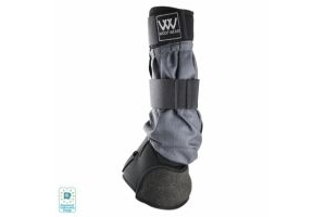 Woof Wear Mud Fever Boot Black and Grey: Small