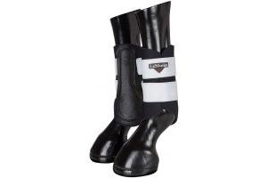 LeMieux Hi Visibility Brushing Boots