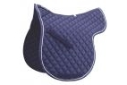Roma Grand Prix High Wither All Purpose Pad - Navy/White - Full