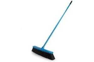 Red Gorilla SP.GRBR/BL Blue 2 in 1 Sweep & Scrape Broom 50cm