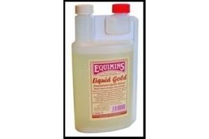 Equimins Unisex's Liquid Gold Concentrated Garlic Extract, Clear, Regular