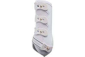 LeMieux Snug Boots (Hind) - White, Medium