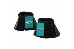 WeatherBeeta Impact Bell Boots Black/Turquoise