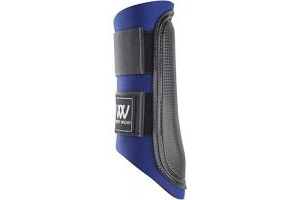 Woof Wear Club Brushing Boot - Navy/Black, X-Large