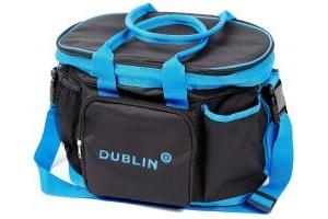Dublin Imperial Grooming Bag Black/Blue