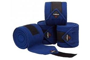 LeMieux Luxury Polo Bandages - Benetton Blue, Pony