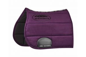 WeatherBeeta Elite All Purpose Saddle Pad Purple Penant