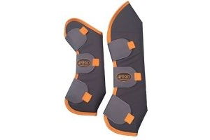 Horseware Amigo Travel Boots Full Excalibur/Orange