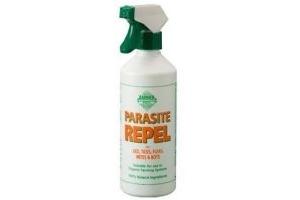 BARRIER PARASITE REPEL FOR LICE/TICKS/FLEAS/MITES/BOTS 500ML SPRAY 100% NATURAL
