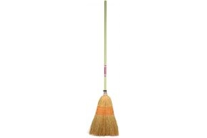 Faulks Corn Broom Large Pistachio Green