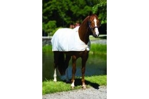 Rambo Horseware Waterproof Fly Rug Liner-White 6'0