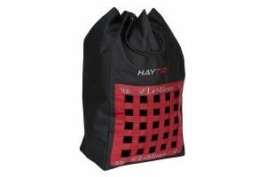 LeMieux Hay Tidy Bag Black/Red